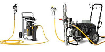 Pumper og sprøjter til sprøjtemembraner